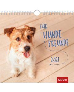 Für Hundefreunde 2021 - Wandkalender