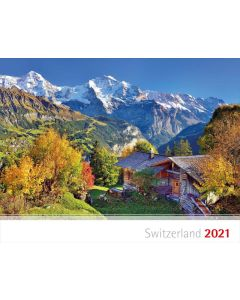 Schweizer Bergkalender 2021 - Polnisch