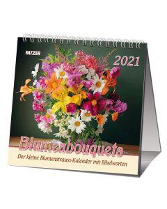 Blumenbouquets 2021 - Tischkalender