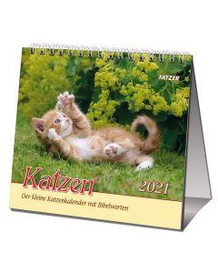 Katzen 2021 - Tischkalender