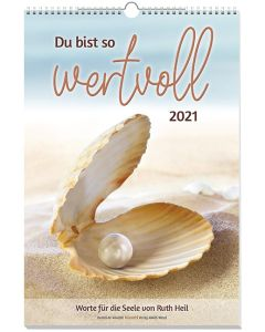 Du bist so wertvoll 2021 - Wandkalender