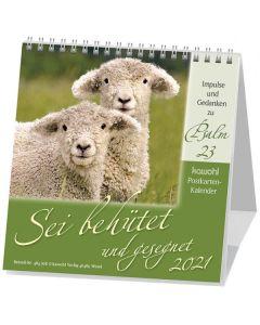 Sei behütet und gesegnet 2021 - Postkartenkalender