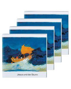 Jesus und der Sturm - 4er Set