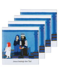 Jesus besiegt den Tod - 4er Set