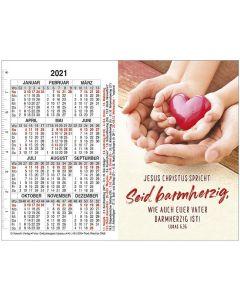 Jahreslosung 2021 - Doppel-Spielkartenkalender