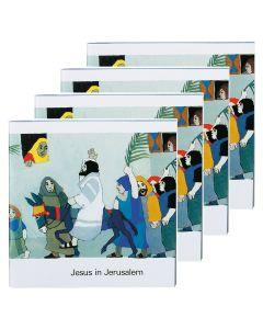 Jesus in Jerusalem - 4er Set