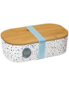 """Lunch-Box: """"Gottes reicher Segen sei mit dir"""" (Bambus)"""