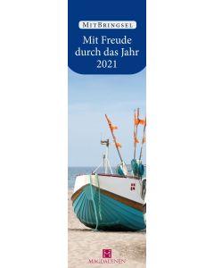 Mit Freude durch das Jahr 2021 - Lesezeichenkalender