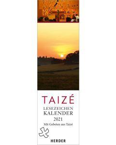 Taizé 2021 - Lesezeichenkalender