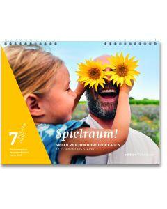Spielraum! 2021 - Fastenkalender - Wandkalender