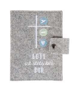 "Buch-Schutzumschlag ""Gott ist stets bei dir"""