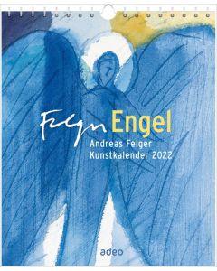 Engel 2022 - Postkartenkalender