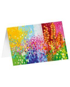 """Kunstkarten """"Blütenmeer"""" - 5 Stk"""
