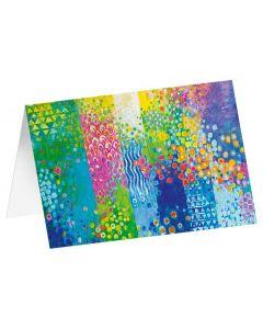 "Kunstkarten ""Blütenparadies"" - 5 Stk"