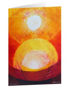 """Kunstkarten """"Sonnencorona I"""" - 5 Stk."""