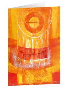"Kunstkarten ""Sonnengebet"" - 5 Stk."