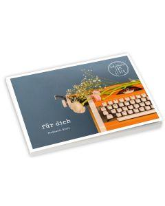 für dich – Postkartenbuch