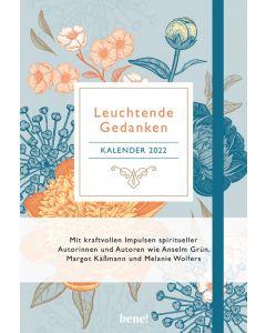 Leuchtende Gedanken Buchkalender 2022 (Floral)