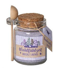 Badesalz Wohlfühlzeit - Lavendel