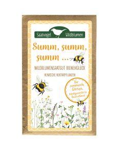Wildblumensaatgut Bienenglück Summ, summ, summ