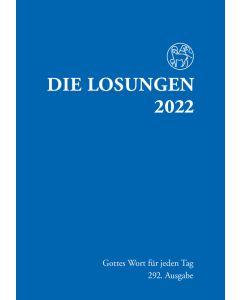 Losungen 2022 dunkelblau, Normalausgabe