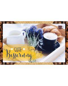 Kaffeekarte - Gute Besserung
