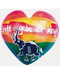 Handschmeichler-Herz: Gott gebe dir Kraft