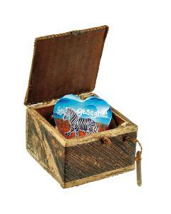 Geschenk-Box mit Herz  - Sei gesegnet