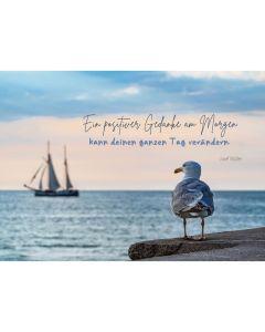 "Postkarten ""Ein positiver Gedanke"" 4er-Serie"
