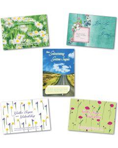Postkarten - Geburtstag 10er Set