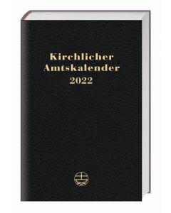 Kirchlicher Amtskalender 2022 - schwarz