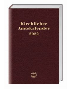 Kirchlicher Amtskalender 2022 - rot