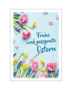Postkarten: Frohe und gesegnete Ostern, 4 Stück