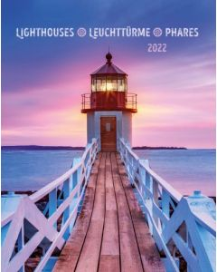Leuchttürme 2022 - Wandkalender