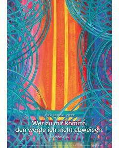 Jahreslosung 2022 - Kunstblatt DIN A3
