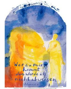 Jahreslosung 2022 - Kunstblatt 62 x 93cm