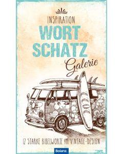 Inspiration Wortschatzgalerie 2022 - Posterkalender