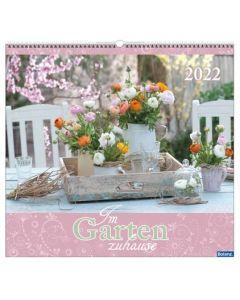 Im Garten zuhause 2022 - Wandkalender
