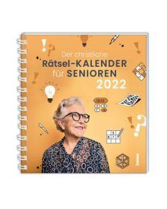 Der christliche Rätsel-Kalender für Senioren 2022