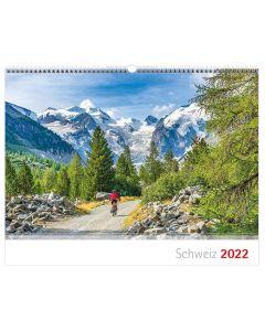 Schweizer Bergkalender 2022 - Polnisch
