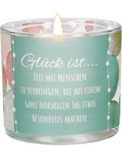 """Windlicht LichtMomente """"Glück ist..."""""""