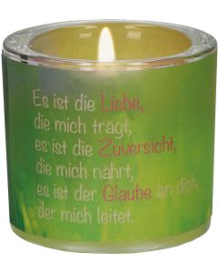 """Windlicht LichtMomente """"Liebe, Zuversicht, Glaube"""""""