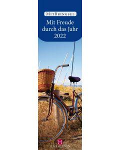 Mit Freude durch das Jahr 2022 - Lesezeichenkalender