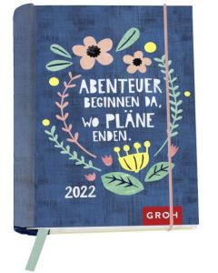 Abenteuer beginnen 2022 - Buchkalender