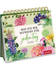 Was ich dir wünsche für jeden Tag 2022 - Postkartenkalender