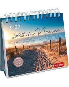 Zeit für Neues 2022  - Postkartenkalender