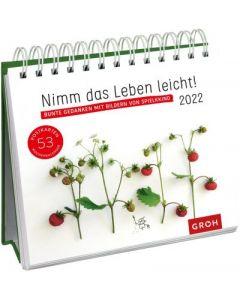 Nimm das Leben leicht! 2022  - Postkartenkalender