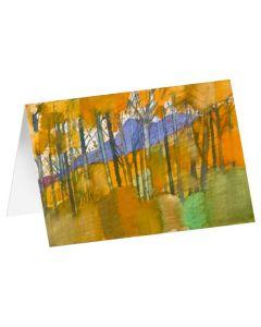 """Kunstkarten """"Goldener Herbst"""" 5 Stk."""