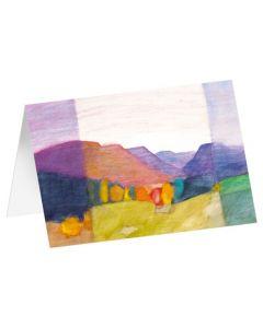 """Kunstkarten """"Herbstfarben"""" 5 Stk."""