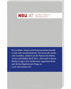 Neue Genfer Übersetzung - Levitikus + Numeri + Deuteronomium